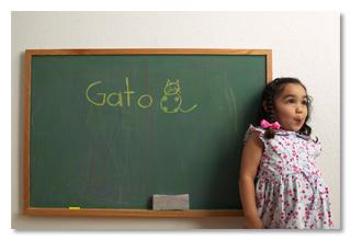 """""""Santa madre de Dios, al aprender español he ganado la habilidad de hablar con 400 millones de personas con las que antes no podía"""""""