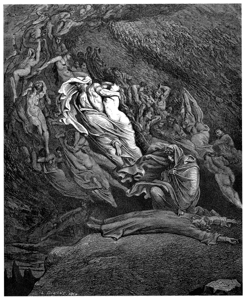 Gustave Doré, from his illustrations to the Divine Comedy (1857)