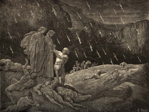Circle 7 - The Violent and Ambitious by Gustave Doré